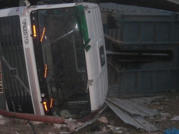 משאית משא בשכונת אלזיתון.