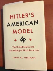 Hitler's American model (book)
